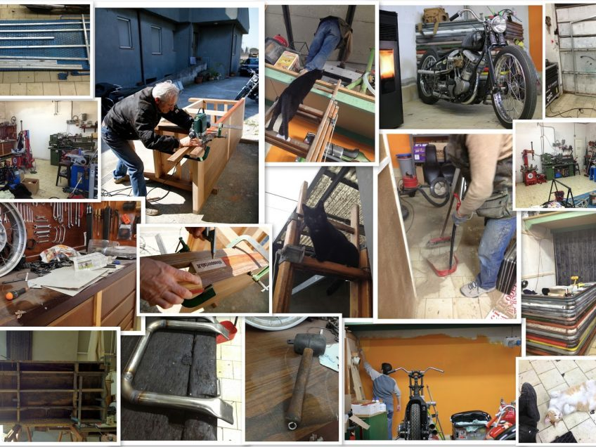 time to restore chopperlab officina harley rimini