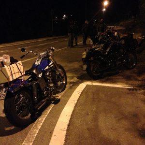 giro in moto notturno 06
