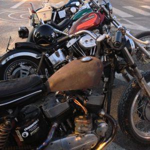 giro in moto notturno k-model