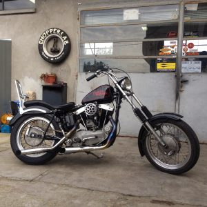 harley ironed XLCH 10