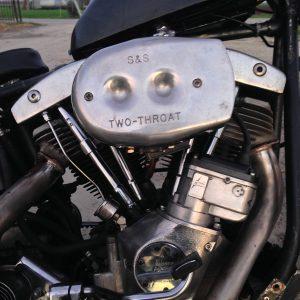 carburatore s&s two throat shovelhead 1978