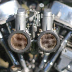 magneto mikuni dual carb sudco cornetti chopper panhead harley davidson flh 1965
