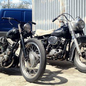 chopperlab restauro e vendita harley d'epoca rimini