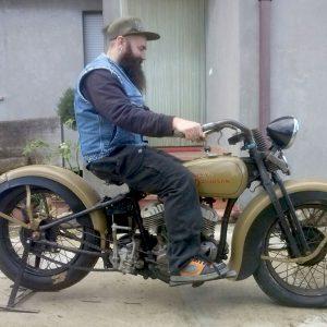 restauro conservativo harley davidson rl 750 flathead