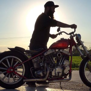 Chopper Early Shovel Harley Davidson