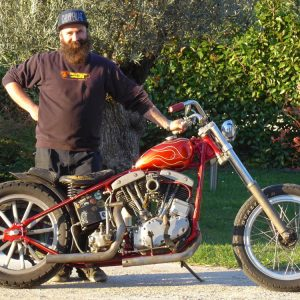 Chopper EarlyShovel Shovelhead Harley Davidson