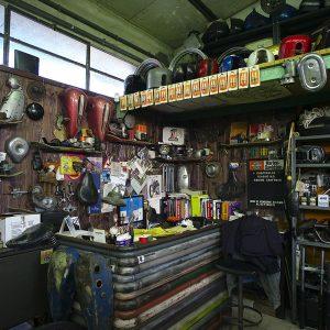 officina chopperlab restauro harley rimini