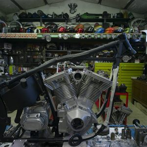 chopperlab restauro harley d'epoca rimini