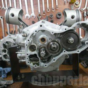 restauro knuckle hd carter motore